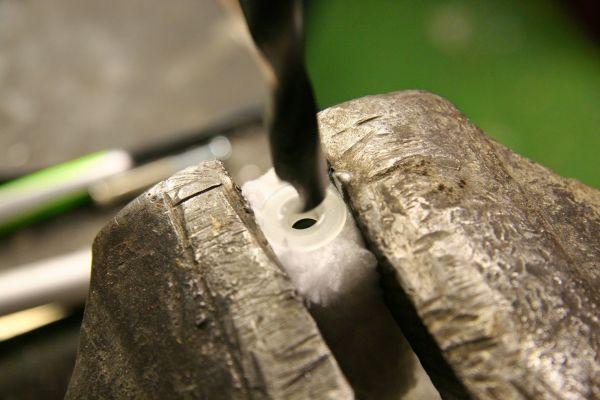 Geruchstarnung Buchenholzteer für die Hosentasche - Farbrolle für Träger aufbohren